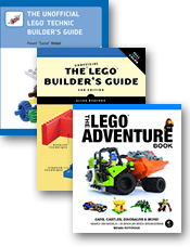 Nostarch Press - New LEGO Books!